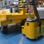 Energy supplier uses motormover electric tow tugs