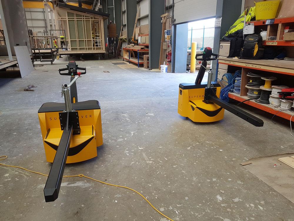 Homeseeker use motormover electric tugs