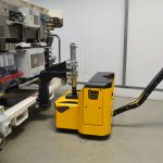 Major MotorMover electric tug with bespoke coupling for easy material handling