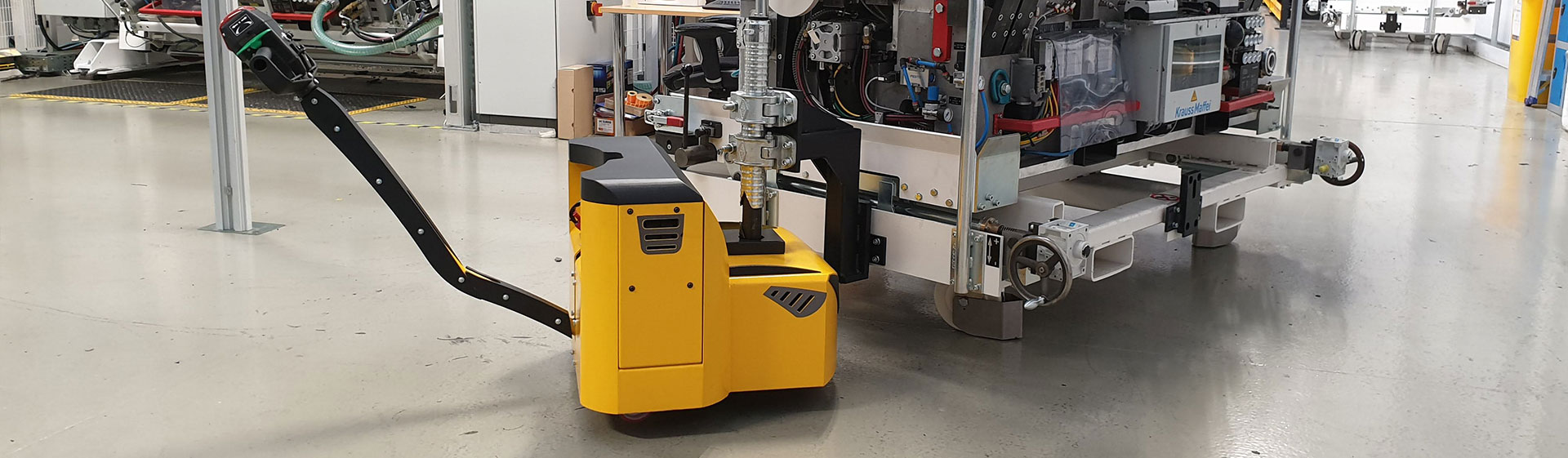 Electric Tow Tug MotorMover UK Manufacturer